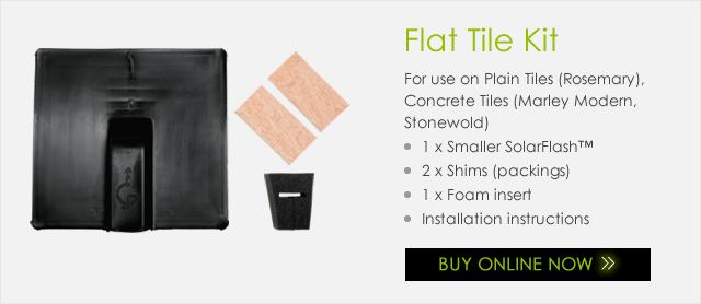 SolarFlash Flat Tile Kit