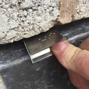 securing lead flashing